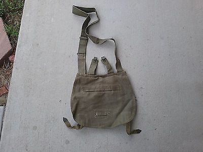 Czech Army bread bag - 1951 dated - nice!