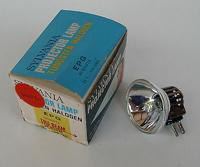 Projector Lamp EPG 21volt 80watt Tungsten Halogen mirror type
