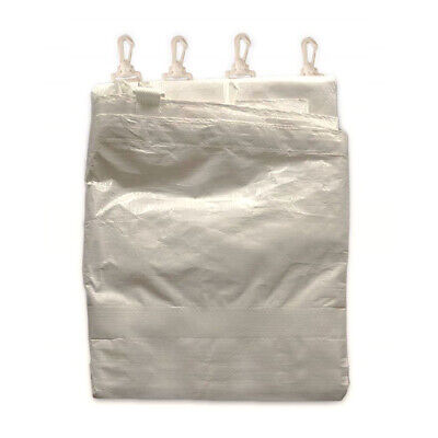 Tent Sidewall White Outdoor Canopy Side Wall Shade Side Panel Curtain Shelter PE