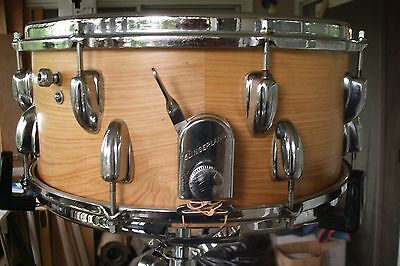 """Slingerland 1963 Snare 6.5""""x14"""" hand crafted shell/original re-rings"""