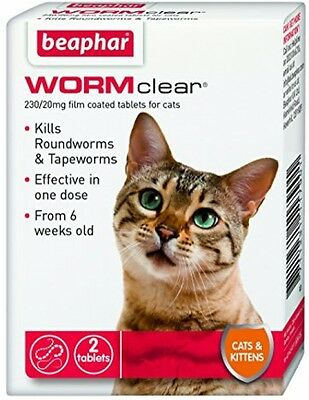 WORMclear Tablets For Cats And Kittens