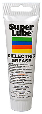 SYNCO CHEMICAL CORP - Silicone Dielectric Grease, 3-oz.