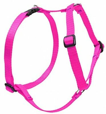 Lupine Roman Harness For Medium Dogs, 3/4-inch/ 20 - 32-inch, Hot Pink