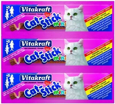 Vitakraft Cat Stick Mini Cod And Tuna 18 G (Pack Of 20)
