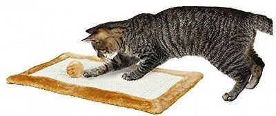 Trixie Cat Scratching Mat With Toy