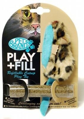 Play And Fill Refillable Cat Toy