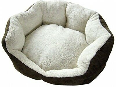 TOTO and MIMI Round Plush Bed, Large