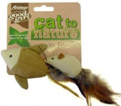 Good Girl Cat To Nature Catnip Fancies Cat Toy