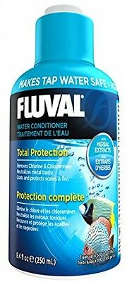 Fluval Aquaplus 250ml Water Conditioner For Aquariums