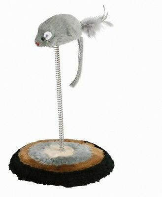 Trixie Cat Toy Mouse On A Spring, Toys, Cats