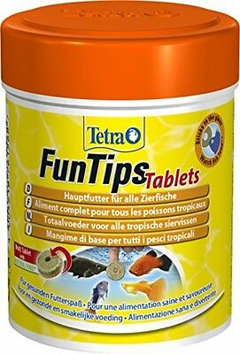 Tetra Funk Tips Tablets Feeding Tablets (main Chuck, Sticks To The Disc, For Of