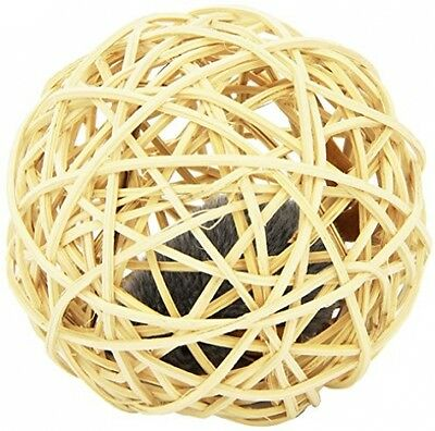 Karlie 47923 Willow Ball Cat Toy With Sound Chip Diameter 10 Cm