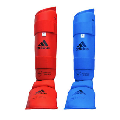 adidas Official WKF Shin and Removable Instep Protector