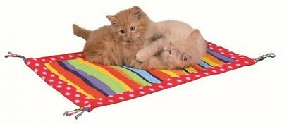Trixie Playing Mat With Tassels, 55 X 37 Cm, Pack Of 4