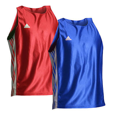 adidas Amateur Boxing Tank Top Pack – 1 Red & 1 Blue