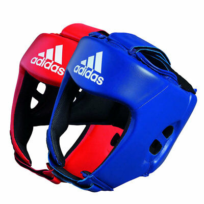 adidas AIBA Approved Boxing Head Gear Pack – 1 Red & 1 Blue