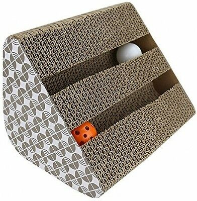 Chenci Cat Scratching Pads, Cat Scratching Pad Toy With Inside Bell-Balls And