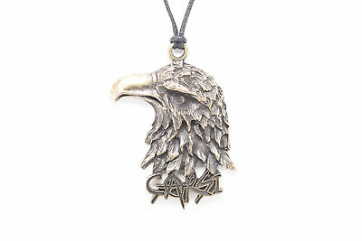 Eagle Unisex Fashion Pendant Necklace with Black Cord-K273