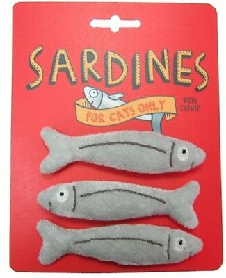Happy Meow Sardine Catnip Toy