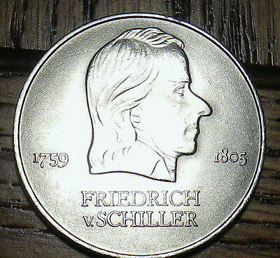 1972 A German FRIEDRICH 20 Mark - LARGE HIGH QUALITY Unc COIN - Look