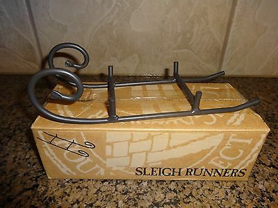 Longaberger Wrought Iron 1998 Sleigh Runner NIB # 71722
