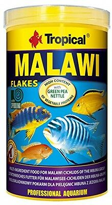 Tropical Malawi Mbuna Cichlids Special Flake Vegetable High-protein Fish Food -