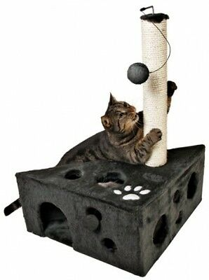 Trixie 4362 Murcia Scratching Post 68 Cm Charcoal Grey
