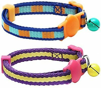Blueberry Pet Pack Of 1, Neck 23cm-33cm, Nautical Style Designer Adjustable Cat