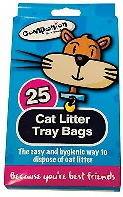 50 Cat Litter Tray Liners - 2 Packs Of 25