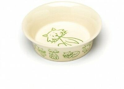 Petface Ceramic Cat Bowl - Catkins