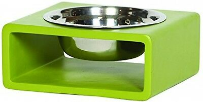 Unleashed Life Phorn Collection Dog Bowl, Medium, Green