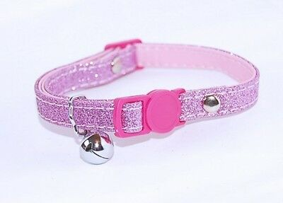 Pet Palace® Glitter Kitty Cat Kitten Collar For Cats Who Relish The Nightlife