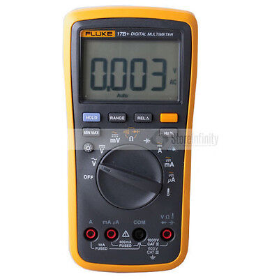 Fluke 17B+ Auto Range Digital Multimeter 600 V Cat III
