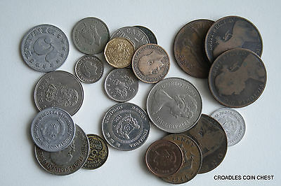 100 Grams  Of Mixed World Coin's General Mix Modern World #caft3