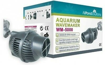 All Pond Solutions WM-5000 Aquarium Dual Powerhead Wave Maker, 5000L/H Flow Rate