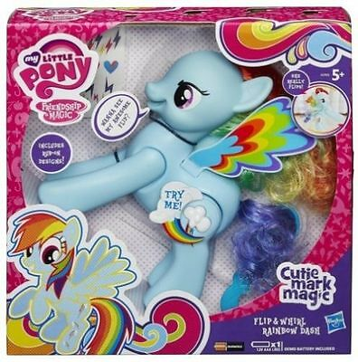 My Little Pony Rainbow Dash Figure Flip and Whirl - FAST DELIVERY - BRAND NEW!