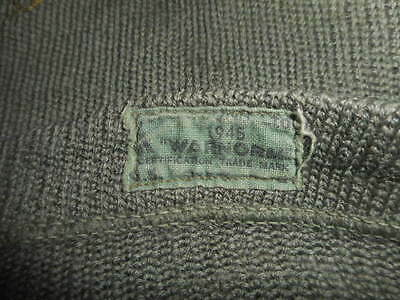 Great Britain: Wwii 1945 Parachute Woolen V Neck Pullover 1945 Wwii