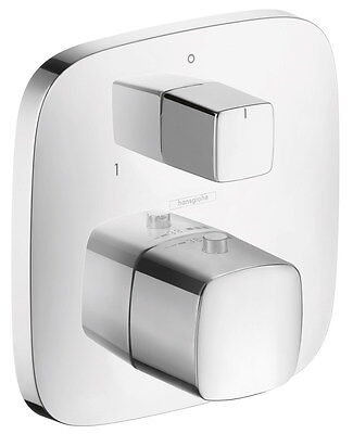 Hansgrohe PuraVida Thermostat with Shut Off Valve and Diverter 15771S00 15771000