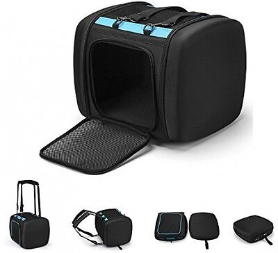GoLine Foldable Pet Travel Carrier, Airline Approved Deluxe Soft Sided Pet W/