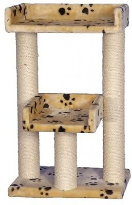 Nobby 62012-08 Chita Scratching Post Beige With Pawprint Pattern