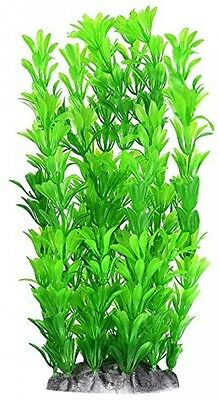 Mudder Fish Tank Artificial Plants Aquarium Decoration 10 Inch, Green