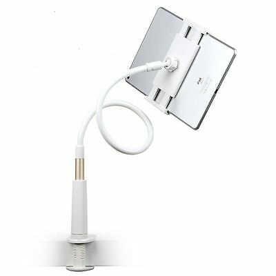 Soporte Universal Flexible Y Giratorio 360 º Para Tablet Ipad 2 3 4 5 Blanco