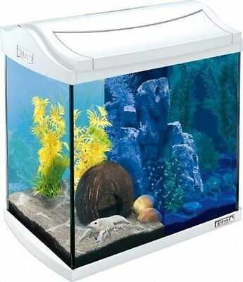 Tetra 244894 AquaArt LED Aquarium Complete Set, 30 L, White