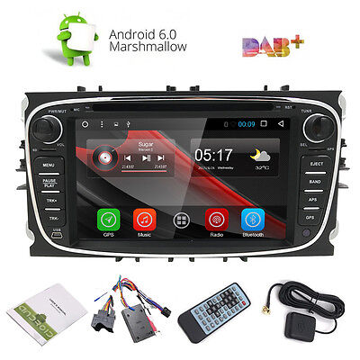 Android 5.1.1 Car DVD Player 2 Din Quad Core Car Radio GPS for Ford Mondeo