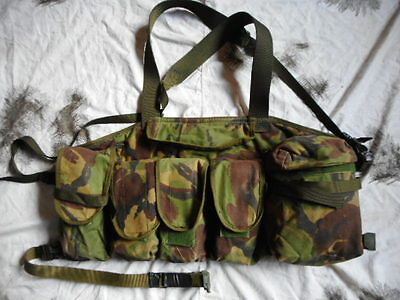 RARE CUSTOM MADE SBS USED CHEST WEBBING RIG HARNESS berghaus fittings DPM