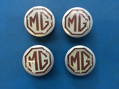 MG F/TF/ZR/ZS Set of 4 Alloy Wheel Centre Caps (Part #: DTC100630)