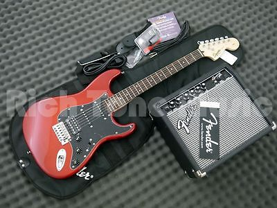 Squier Affinity Series Strat Starter Pack - Candy Apple Red