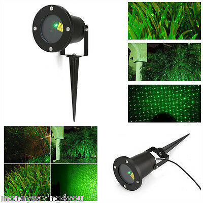 Outdoor Luz Láser Césped verde Dynamic Firefly Projector Starry  IP68