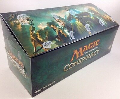 Conspiracy Box Da 36 Buste Mtg Magic The Gathering Nuovo E Sigillato