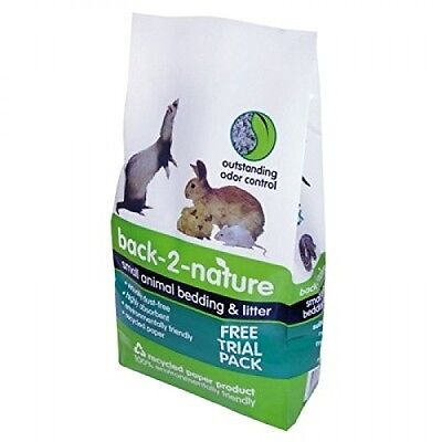 Fibrecycle Back-2-Nature Cellulose Litter For Small Animals 30 Litres